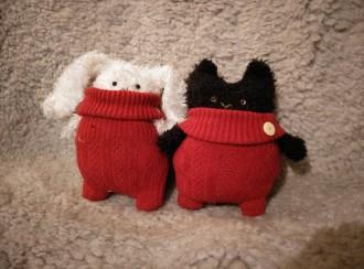 Kanin och katt